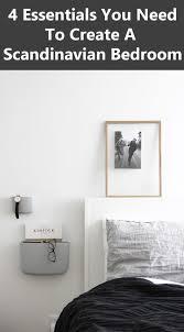 Scandinavian Room 4 Essentials You Need To Create A Scandinavian Bedroom Contemporist