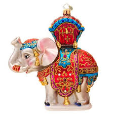 elephant tree ornaments