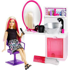 Barbie Style Doll Reviews And by Barbie Sparkle Style Salon U0026 Doll Blonde Dtk05 Barbie