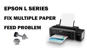 How To Fix Multiple Paper Feed Problem Epson Ink Jet Printers Youtube