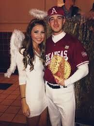 angels in the outfield couples costume hooray for halloween