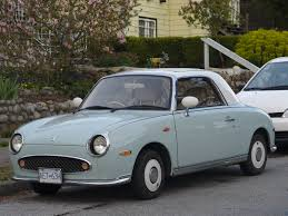 nissan figaro interior old parked cars vancouver 1991 nissan figaro