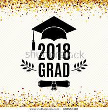 graduation poster graduation 2018 stock images royalty free images vectors
