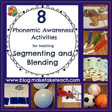 8 great ideas for teaching segmenting and blending make take u0026 teach