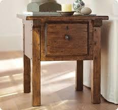 rustic wood side table rustic wood side table