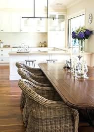 dining table round dining table with wicker chairs round dining