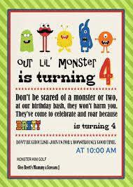 monster invitation cut copy u0026 paste monster birthday party