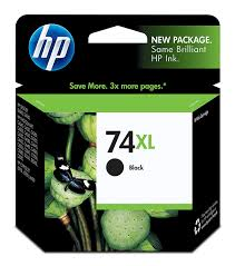 amazon com hp 74xl ink cartridge black office products