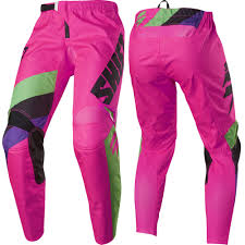 pink motocross bike shift mx white label tarmac mens motocross off road dirt bike