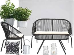petit salon de jardin pour terrasse petit salon de jardin pour balcon pas cher photos de conception