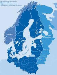 Baltic Sea Map Baltic Sea Region Interreg Iii B Database Of Programme Outputs