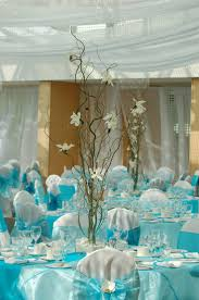 blue wedding decorations for the tables gorgeous blue and white