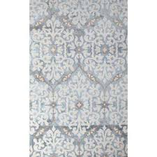 Grey And Blue Area Rugs Chenille Blue Area Rugs Rugs The Home Depot