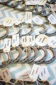 horseshoe wedding favors 9 cards that as wedding favors my hotel wedding
