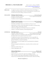 Sample Of Resume For Teachers Resume Sample For Maths Teacher Templates