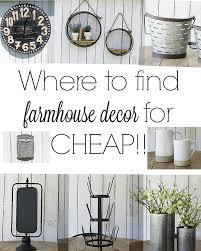 Best Discount Home Decor Websites Where To Find The Best Farmhouse Style Decor For Cheap