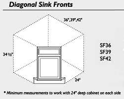 36 corner sink base cabinet pre finished raised panel oak kitchen cabinets