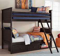 Black Wooden Bunk Beds Jaysom Black Wood Bunk Bed Signature Design By