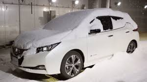 nissan leaf key not detected new auto watch as snow falls on 2018 nissan leaf plus dyno