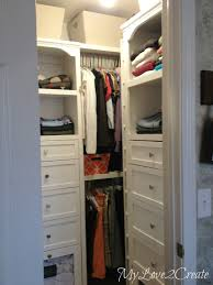 master closet makeover with storage blog diy unicareplus