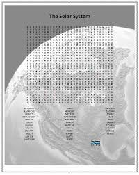 solar system word find printable pics about space