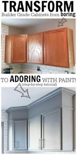 How To Repaint Kitchen Cabinets by Turn Any Style Of Cabinets Into Shaker Style With This Thin Board