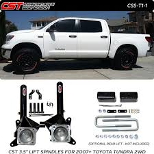leveling kit for 2014 toyota tundra cst 2007 2015 toyota tundra lift spindles 2wd only css t1 1