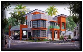 modern two story house designs philippines house design