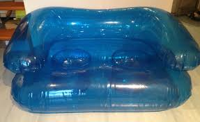 canap gonflable piscine canapé gonflable bleu tout doit disparaitre