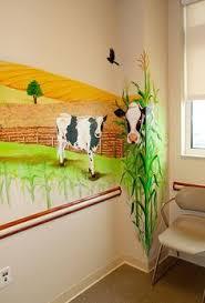 Pediatric Room Decorations Salt Water Aquarium Mural For Dr Klein U0027s Office Waiting Room