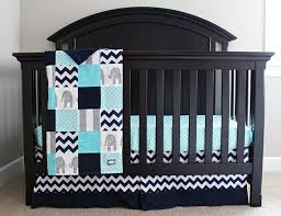 Elephant Nursery Bedding Sets Reserved Aqua Navy And Grey Baby Bedding Elephant Crib