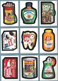 the fleer sticker project wacky packages old series 2