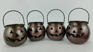 halloween wax warmer hosley halloween candle holder metal jack o and 50 similar items