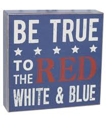 word blocks home decor sea to shining sea word block be true to red white and blue