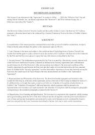 collateral loan agreement template 687448 png