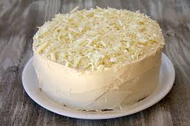 white chocolate cake cook diary