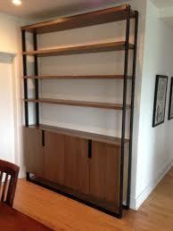 Steel Frame Bookcase Built Ins U2014 Lagomorph Design