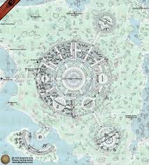 Solstheim Map Oblivion Map Of Imperial City And Its Environs Guide To The