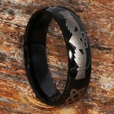 Mens Black Wedding Rings by 25 Claddagh Rings 50 Off Claddagh Wedding Bands