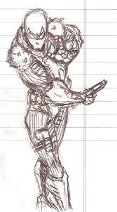 agent venom mini sketch by orionstarb0y on deviantart