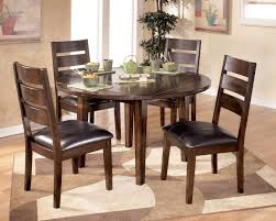 dining room tables round round dining table set with leaf extension round dining set 4