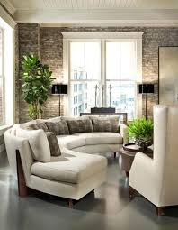 living room awesome living room design with curve white sofa and