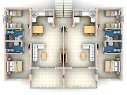Apartment Plans 2 Bedroom Apartments Plans Throughout How To Decorate A Two Room