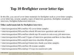 Fire Department Resume Sample Firefighter Cover Letter