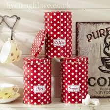 Red Polka Dot Kettle And Toaster Red Polka Dot Toaster And Kettle And Oilcloth Tablecloth There U0027s
