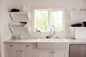 Ikea Farmhouse Kitchen Sink Our Bright White Open Kitchen Traditional Kitchen Dallas