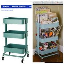 ikea raskog cart organization damn i need this my room is a hot mess right now nursery and