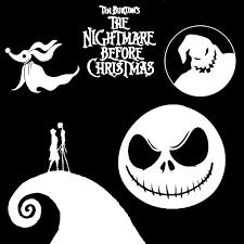 Nightmare Before Christmas Svg Google Search 素材 disney
