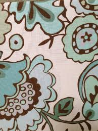 Teal And Brown Shower Curtain Floral Shower Curtains Shower Curtains Outlet