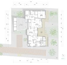 The Louvre Floor Plan by House In Japan By Kazuki Moroe Respects The Shrine Next Door